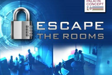 "Teambuilding-Event ""Escape the Rooms"" im palatin Tagungshotel in Wiesloch bei Heidelberg"