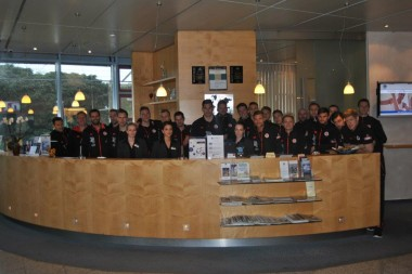 Der Traditionsverein FC St. Pauli war zu Gast im BEST WESTERN PLUS Palatin Kongresshotel in Heidelberg-Wiesloch!