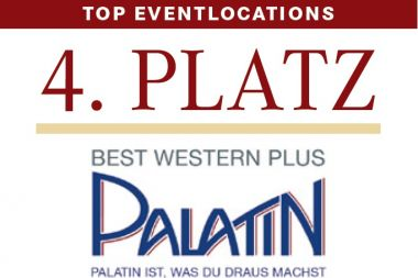 "Platz 4 – ""Top-Tagungs- und Top-Eventlocations"" 2015!"