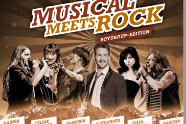 Musical meets Rock Boygrpup Edition mit Stargast Alexander Klaws