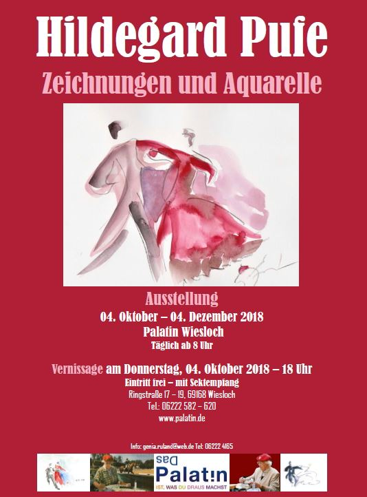 """Lady Redcap"" zur Vernissage in Wiesloch"