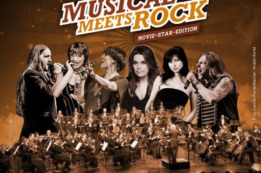 Ausverkauft! Musical Meets Rock – Movie-Star-Edition mit dem SAP Sinfonieorchester & Stargast Carolin Fortenbacher