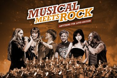Musical Meets Rock 2019 - Anything for Love-Edition mit Stargast Alexander Melcher & dem SAP Sinfonieorchester